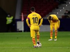 Le cauchemar continue pour le Barça !. afp