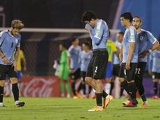 Já são 17 os positivos na Seleção Uruguaia. EFE/Matilde Campodonico