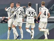 Cristiano fue el autor de los dos goles de la Juve. EFE/EPA