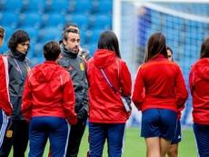 España quiere atar matemáticamente su clasificación hacia la Eurocopa. EFE