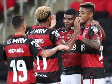 Sigue el directo de la Libertadores. Captura/DAZN