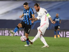 Conte met en garde Hakimi. EFE