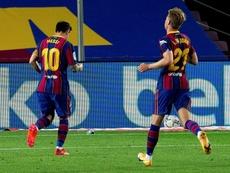 Messi y De Jong vuelven a la lista. EFE