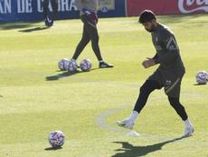 Diego Costa volvió a aparecer. EFE