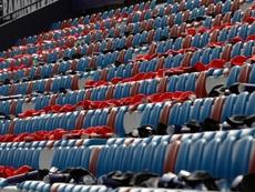 En febrero o marzo podría volver el público a los estadios de fútbol. EFE