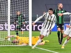 Juventus agli ottavi di finale. AFP