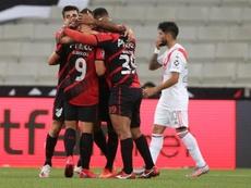 Athletico Paranaense pierde a once jugadores para medirse con River. EFE