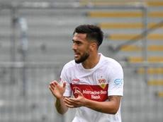 Nicolas Gonzalez has signed a new deal with Stuttgart. AFP
