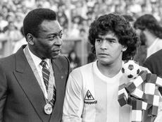 Pelé y otra despedida más sentida a Maradona. EFE/EPA