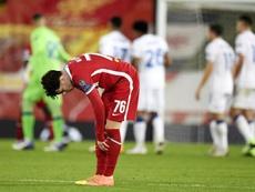 Liverpool se fait surprendre par l'Atalanta à Anfield. EFE