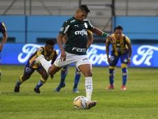 Fifa usa Roni corintiano para destacar Palmeiras. EFE/Ariel Ochoa