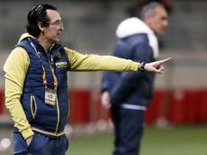 Emery analizó el Maccabi Tel Aviv-Villarrea. EFE