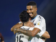 Palmeiras, Gremio, Santos y Libertad mostraron su credenciales. EFE