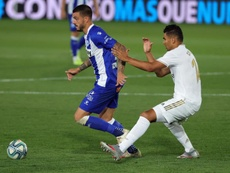 Real Madrid v Alaves live. EFE