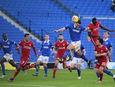 Liverpool deixa pontos pelo caminho. AFP
