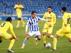 Empate justo entre Real Sociedad y Villarreal. EFE