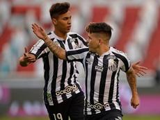 Soteldo é um dos destaques do Santos na temporada. EFE/Rodrigo Buendía