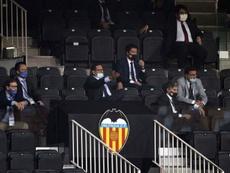 El Valencia tiene complicado fichar. EFE/Archivo