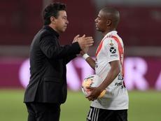 Gallardo podría poner a los menos habituales frente a Godoy Cruz. EFE