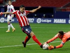 El Valladolid ha encajado al menos un gol en todos y cada uno de los partidos. EFE