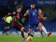 Chelsea agora é o líder da Premier League 2020-21. EFE/EPA/Matthew Childs