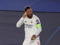 Ramos animó a McGregor. EFE/Archivo
