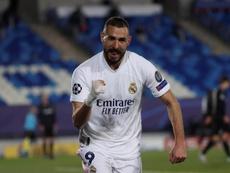 L'attaquant du Real Madrid souhaiterait revenir à Lyon. EFE