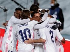 Le groupe du Real du Real Madrid pour affronter Elche. EFE