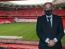 La Coruña pide que Tebas declare como imputado en el 'caso Fuenlabrada'. EFE/Archivo