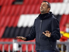 Diego Martínez desveló que Foulquier sufrió un shock anafiláctico. EFE/Archivo
