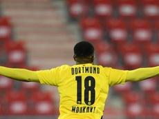 El Borussia Dortmund sueña con sus atacantes. EFE