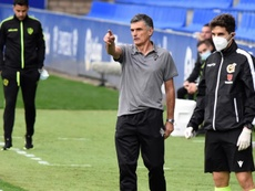 Mendilibar analizó la victoria del Eibar sobre el Granada. EFE