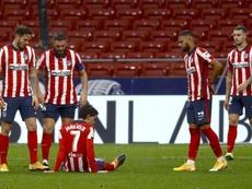 João Félix sofreu um traumatismo na grelha costal. AFP