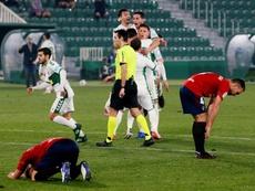 Guido Carrillo regresó al trabajo y apunta a Mestalla. EFE