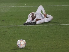 Real Madrid's Rodrygo Silva is out injured. EFE