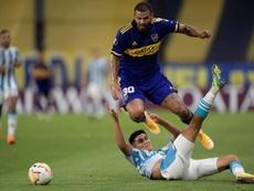 A vitória heroica do Boca sobre o Racing. EFE/Juan Mabromata Pool