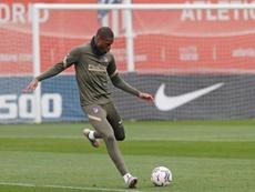 Kondogbia no ha sido titular en Liga con el Atleti. EFE
