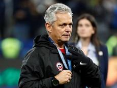 Rueda deja de ser el seleccionador chileno. EFE