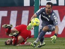 Bravo inició su carrera en Colo-Colo. EFE