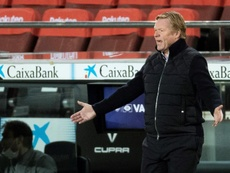 Koeman said that he needs competition in certain positions. AFP