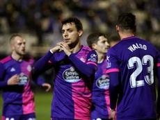 El Marbella perdió 2-3 ante el Valladolid. EFE
