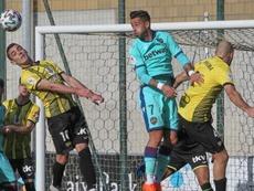Sergio León le dio la victoria al Levante. EFE