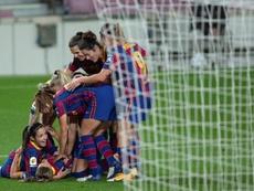 El Barça es líder de la clasificación con 36 puntos. EFE