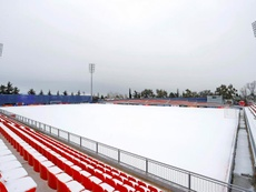 Veja os jogos afetados por conta da neve na Espanha. EFE/Atlético de Madrid