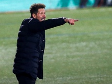 Diego Simeone could extend his contract at Atletico Madrid until 2024. EFE
