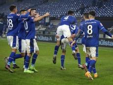 El Schalke 04 ganó en la Bundesliga ¡358 días después! EFE/Lars Baron