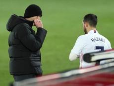 Hazard peut-il être titulaire au Real Madrid ? EFE