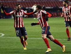 L'Atlético conforte sa place de leader. afp