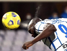 Lukaku rescata al Inter de los penaltis 'in extremis'. AFP
