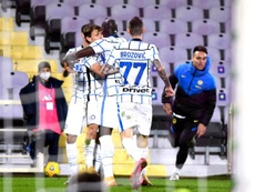 L'Inter se qualifie en quarts au bout du suspense. EFE